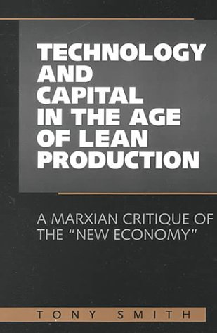 Technology & Capital Age Lean Prod: A: Smith, Tony