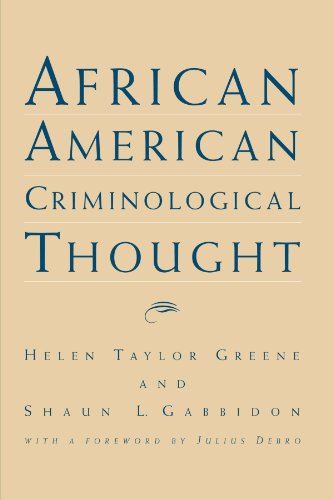 9780791446966: African American Criminological Thought