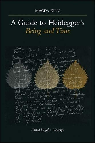 9780791447994: A Guide to Heidegger's Being and Time (SUNY series in Contemporary Continental Philosophy)