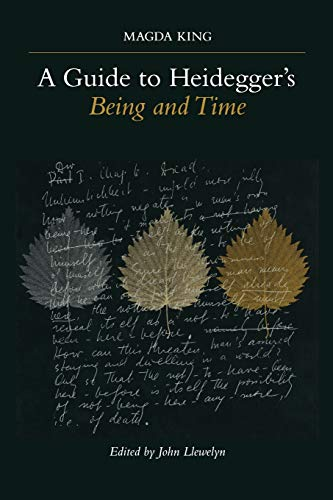 9780791448007: A Guide to Heidegger's Being and Time (Suny Series in Contemporary Continental Philosophy)