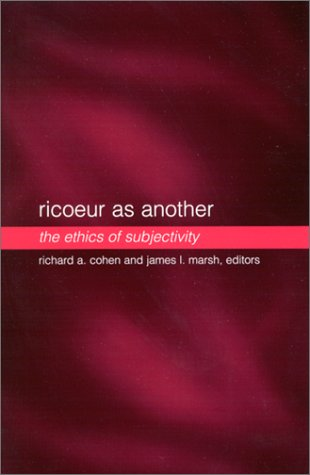 9780791451892: Ricoeur as Another: The Ethics of Subjectivity (SUNY Series in the Philosophy of the Social Sciences)