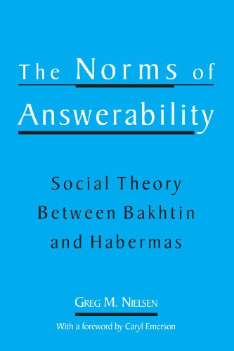 9780791452288: The Norms of Answerability: Social Theory Between Bakhtin and Habermas