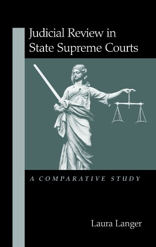 9780791452523: Judicial Review in State Supreme Courts: A Comparative Study (Suny Series in American Constitutionalism)