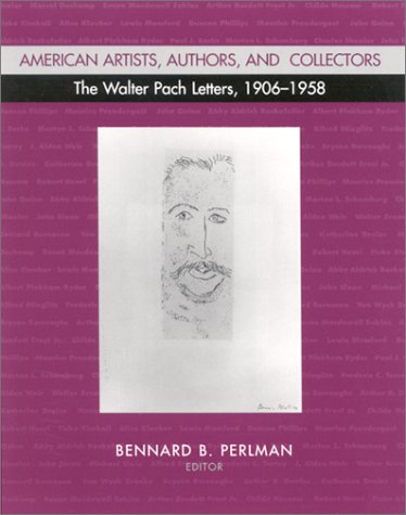 9780791452936: American Artists, Authors, and Collectors: The Walter Pach Letters 1906-1958