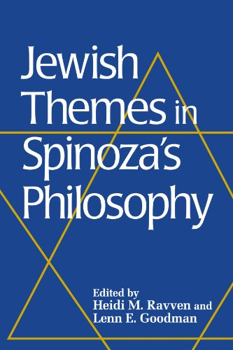 Jewish Themes in Spinoza's Philosophy (Suny Series in Jewish Philosophy)