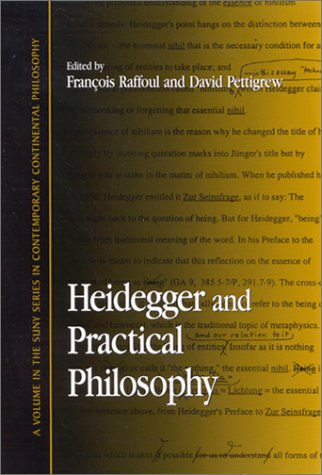 9780791453438: Heidegger and Practical Philosophy (Suny Series in Contemporary Continental Philosophy)