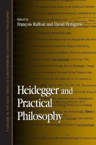 9780791453445: Heidegger and Practical Philosophy (Suny Series in Contemporary Continental Philosophy)