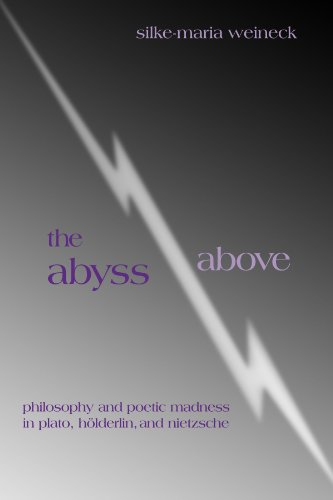 9780791454282: The Abyss Above: Philosophy and Poetic Madness in Plato, Holderlin, and Nietzsche
