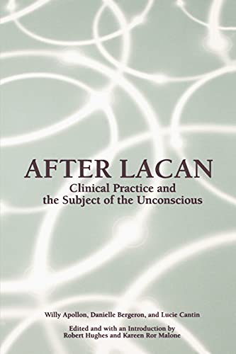 9780791454800: After Lacan (Suny Series in Psychoanalysis and Culture)