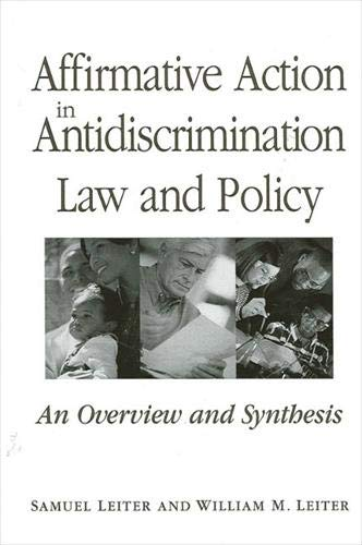9780791455098: Affirmative Action in Antidiscrimination Law and Policy (SUNY Series in American Constitutionalism)