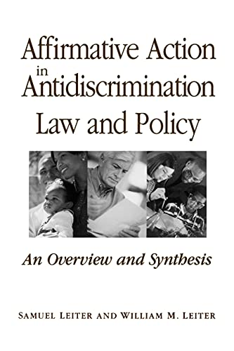 9780791455104: Affirmative Action in Antidiscrimination Law and Policy (SUNY Series in American Constitutionalism)