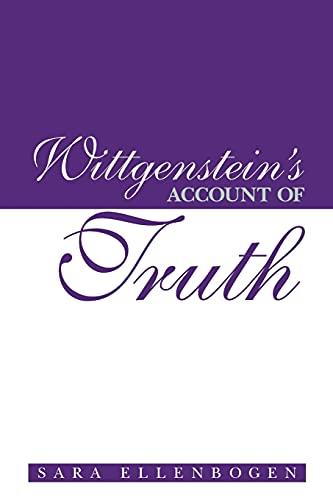 9780791456262: Wittgenstein's Account of Truth