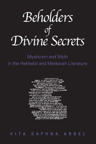 9780791457245: Beholders of Divine Secrets: Mysticism and Myth in the Hekhalot and Merkavah Literature: Mysticism and Myth in Hekhalot and Merkavah Literature