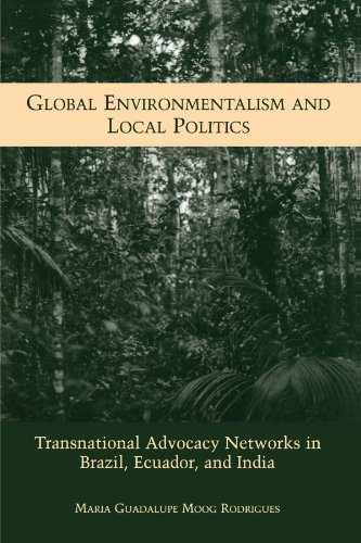 9780791458785: Global Environmentalism and Local Politics: Transnational Advocacy Networks in Brazil, Ecuador, and India (Suny Series in Global Environmental Policy)