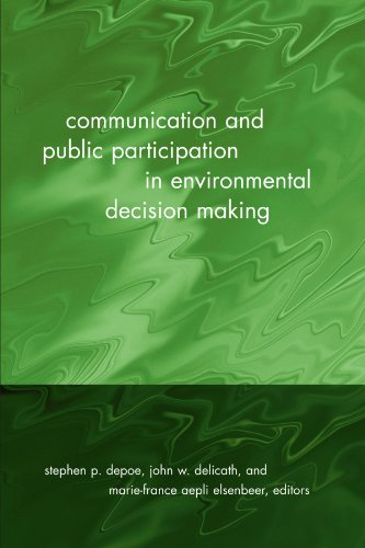 9780791460245: Communication and Public Participation in Environmental Decision Making (Suny Series in Communication Studies)