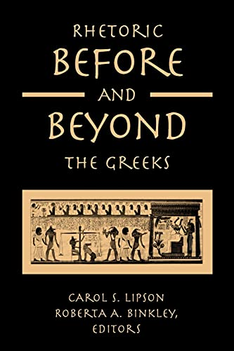 9780791461006: Rhetoric Before and Beyond the Greeks