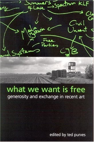 9780791462898: What We Want Is Free: Generosity and Exchange in Recent Art (S U N Y Series in Postmodern Culture)
