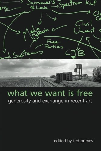 9780791462904: What We Want Is Free: Generosity And Exchange In Recent Art (S U N Y Series in Postmodern Culture)