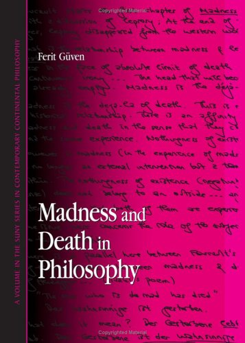 9780791463932: Madness And Death In Philosophy (SUNY series in Contemporary Continental Philosophy)