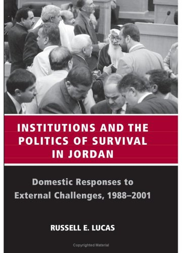 Institutions And The Politics Of Survival In: Lucas Russell E.