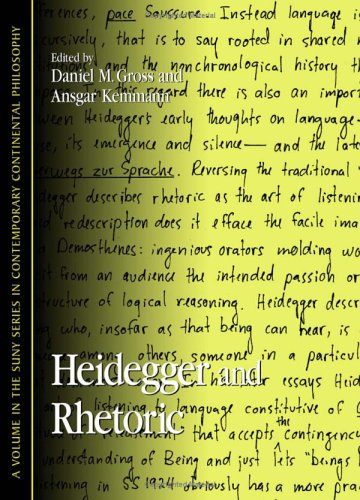 9780791465516: Heidegger And Rhetoric (Suny Series in Contemporary Continental Philosophy)