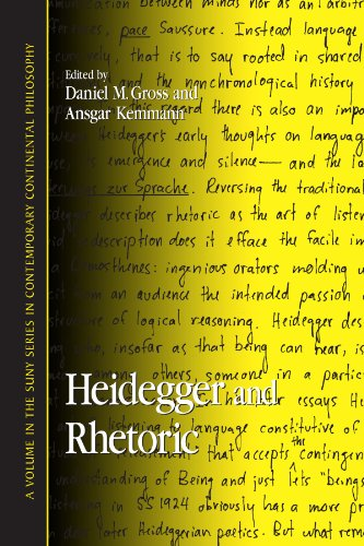 9780791465523: Heidegger And Rhetoric (Suny Series in Contemporary Continental Philosophy)