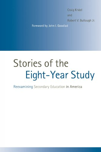9780791470541: Stories of the Eight-Year Study: Reexamining Secondary Education in America