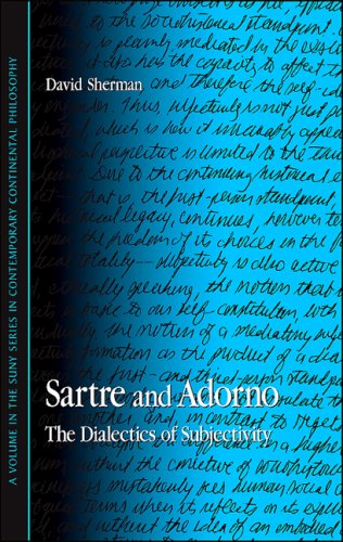 9780791471159: Sartre and Adorno: The Dialectics of Subjectivity (SUNY Series in Contemporary Continental Philosophy)