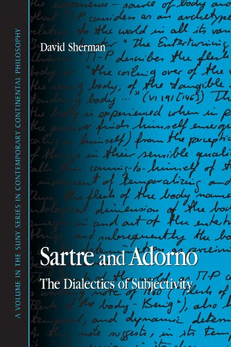 9780791471166: Sartre and Adorno: The Dialectics of Subjectivity (Suny Series in Contemporary Continental Philosophy)