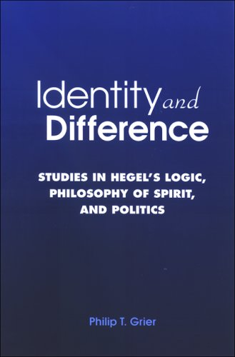 9780791471678: Identity and Difference: Studies in Hegel's Logic, Philosophy of Spirit, and Politics