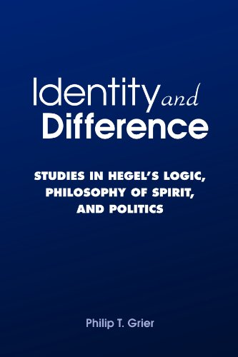 9780791471685: Identity and Difference: Studies in Hegel's Logic, Philosophy of Spirit, and Politics