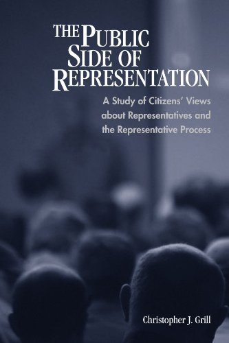 9780791471708: The Public Side of Representation: A Study of Citizens' Views about Representatives and the Representative Process