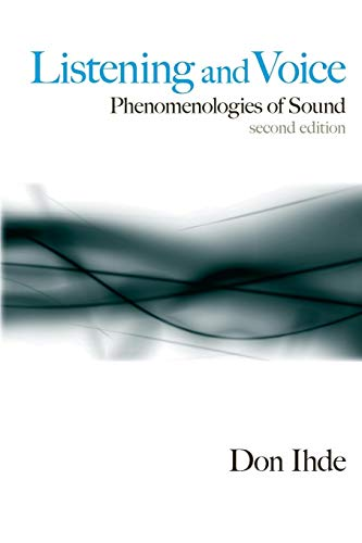 9780791472569: Listening and Voice: Phenomenologies of Sound