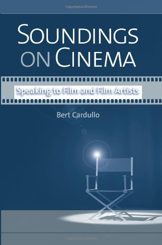 9780791474082: Soundings on Cinema: Speaking to Film and Film Artists (Suny Series, Horizons of Cinema)