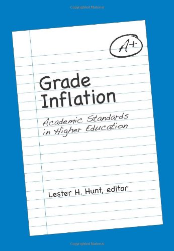 9780791474976: Grade Inflation: Academic Standards in Higher Education