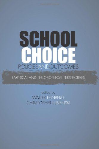 9780791475713: School Choice Policies and Outcomes: Empirical and Philosophical Perspectives