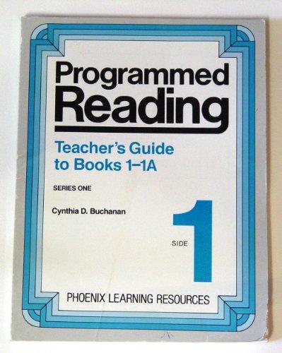 Programmed Reading Teacher's Guide to books 1-1A (1): Cynthia D. Buchanan