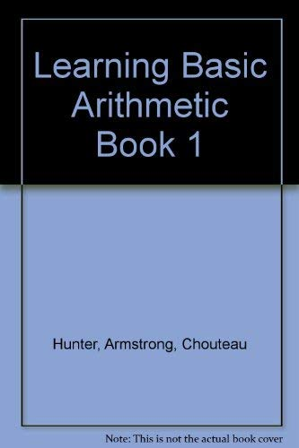 9780791522363: Learning Basic Arithmetic Book 1