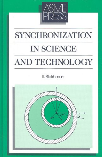 9780791800034: Synchronization in Science and Technology (Asme Press Translations)