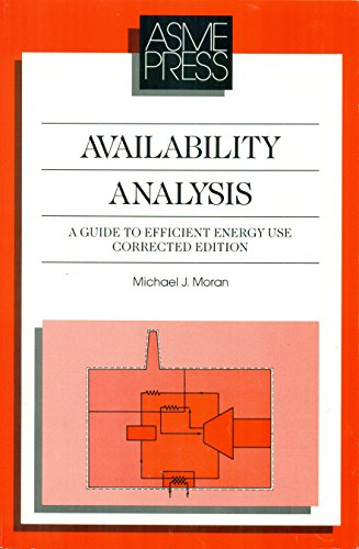 9780791800096: Availability Analysis: A Guide to Efficient Energy Use