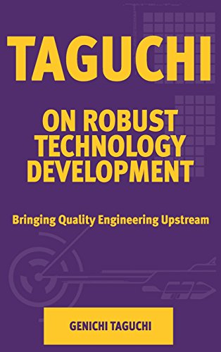 9780791800287: Taguchi on Robust Technology Development: Bringing Quality Engineering Upstream (Asme Press Series on International Advances in Design Productivity)