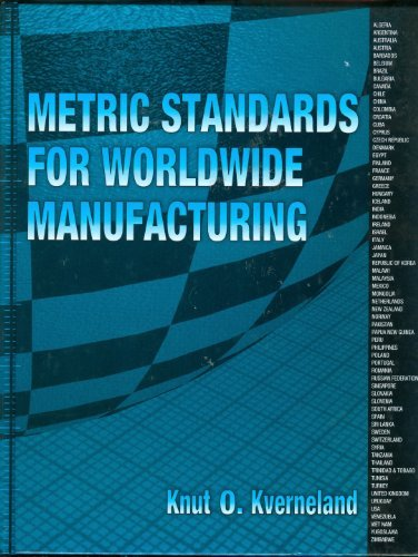 9780791800416: Metric Standards for Worldwide Manufacturing