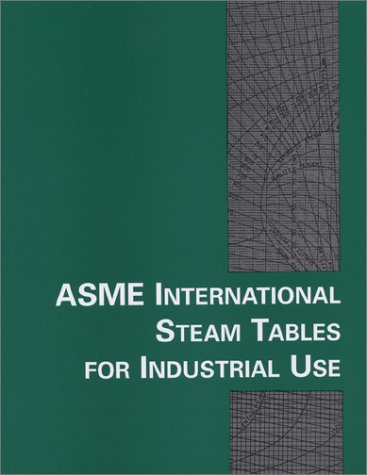 9780791801543: ASME International Steam Tables for Industrial Use