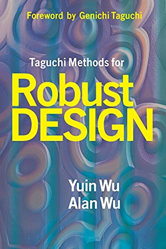 9780791801574: Taguchi Methods for Robust Design