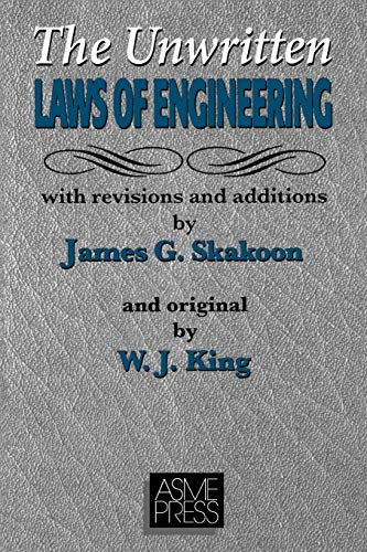 9780791801628: Unwritten Laws of Engineering: Revised and Updated Edition
