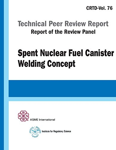 9780791802168: Spent Nuclear Fuel Canister Welding Concept