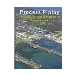 9780791802175: Process Piping: The Complete Guide to Asme B31.3