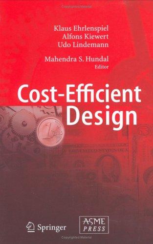 9780791802502: Cost Efficient Design