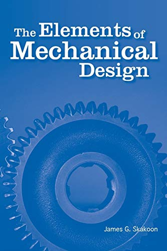 9780791802670: The Elements of Mechanical Design