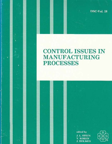 Control Issues in Manufacturing Process Symp at: Ga.) American Society